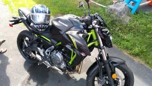 Brand new 2018 Kawasaki z650