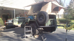 Expedition / Overland Trailer & Roof-Top Tent (RTT)