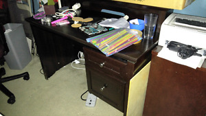 Well used desk