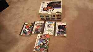 For sale sega saturn system an games in box
