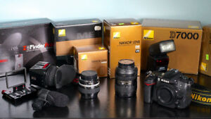 Nikon D7000 Camera Package