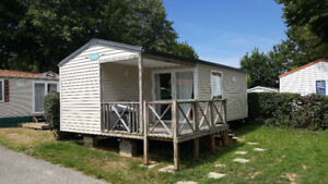 Mobile home, #52, Camping Le Patisseau, 4 stars, Pornic, France