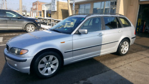 2002 BMW 325 XI WAGON. EXCELLENT COND. CERTIFIED READY TO GO