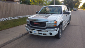GMC Sierra 2500HD work truck for sale.