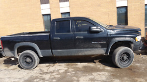 2003 DODGE RAM 2500 5.9L DIESEL PART OUT OR CAN BE FIXED