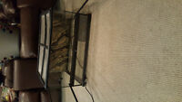 reptile cage wit doors and heat mat