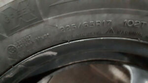 Winter Tire and rims for sale