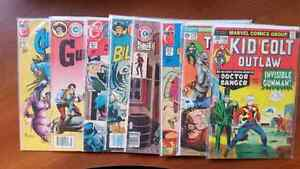 BRONZE AGE WESTERN COMICS BILLY THE KID TWO-GUN KID KID COLT
