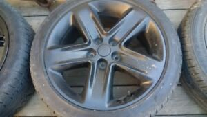 4 - 235R/45R18 Tires and Rims