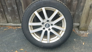 4 winters tires on rims