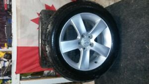 "17"" Mazda snow tires and rims for sale"