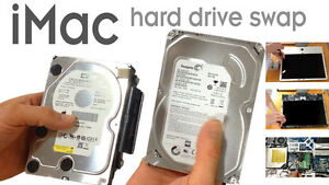 IMAC 2TB Hard Drive Replacement