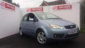 2006 56 FORD FOCUS C-MAX 1.6TDCi 90 ZETEC.FULL S/HISTORY.2 KEYS.SUPERB MPV.60MPG