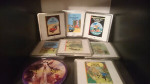 Adventures of Tintin Steelbook - 6x episodes - Video CD