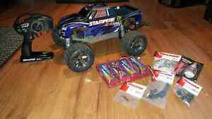 Traxxas Stampede Vxl 4X4 rtr kit complet