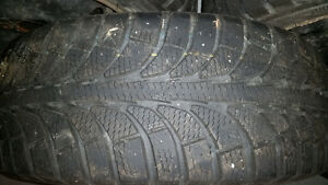 3 Winter tires / 1 All season on steel rims - 205/55R16 St. John's Newfoundland image 4