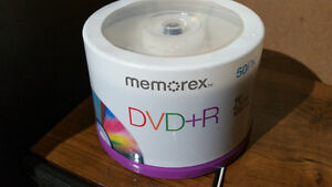 Memorex 4.7Gb/16x DVD-R (50-Pack Spindle) (still sealed)