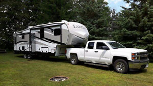 Laredo 5th Wheel trailer