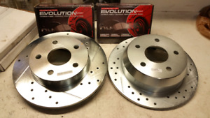 Power Stop Pads & Rotors for 1999-2004 Jeep Grand Cherokee