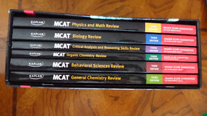 Brand New MCAT Third Edition Complete 7 Book Subject Review