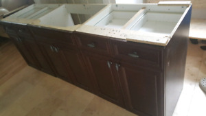7ft Vanity Cabinet Only