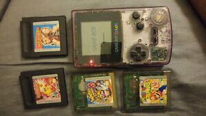 Gameboy Colour + 4 games working Excellent!