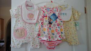 Baby clothing - 2 items size 6-9 months, one in size 12 months