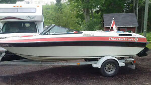 SOLD.   1991 THUNDER CRAFT 1660 LS 16ft BOAT.