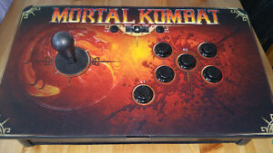 Brand new Mortal kombat fight stick combo in box ps4 compatible