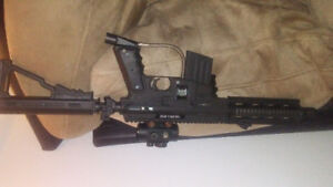 Serria One paintball gun great shape no tank. Asking 170 obo