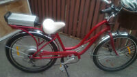 Spring is Here!!! 2010 E-Cruiser e-bike With Lithium Batteries!!