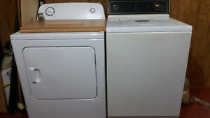 Maytag washer and Amano dryer