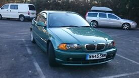 BMW 328i coupe very low miles and fsh, PRICE REDUCED