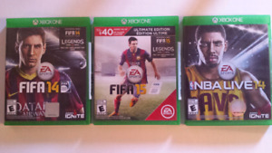 Xbox one sports games - cheap!