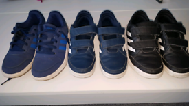 Boys Adidas trainers. Size 2.