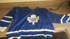SIGNED ST JOHN'S MAPLE LEAFS JERSEY