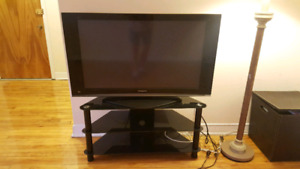 42 inch Panasonic flat screen TV (comes with stand!)