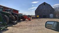 Tractor Services: Grading, Lawns, Bush Hogging, Clean Up, Loader