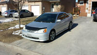 2001 Honda Civic Si Coupe (2 door) reduced to sell