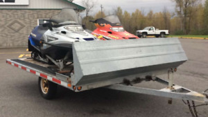 2006 Double Sled Trailer