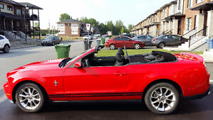 2011 Ford Mustang cuir Cabriolet