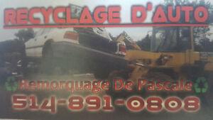 We buy scrap cars for recycling.150 et  plus 514 891 0808 West Island Greater Montréal image 3