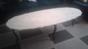 Ensemble de 3 table de salon en vrai marbre