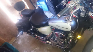Reduced Honda shadow