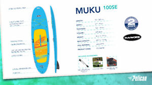 Pelican Sport Muku 10ft sup Paddleboard,planche,paddle extra $49