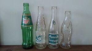 4 Soda Bottles