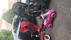 Stroller - Kid bike ++ $50 each