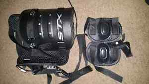 Kids LaCrosse chest and knee guards