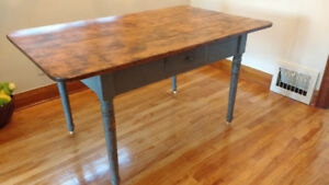 Rustic Antique Pine kitchen or dining table