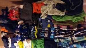 Boys Summer Clothes 2T and 24 Months